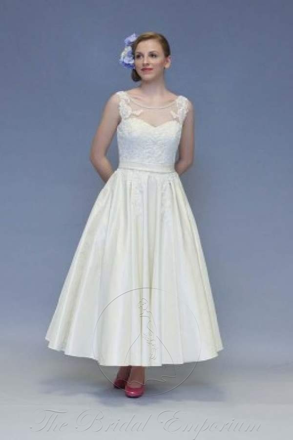 Calf Length Vintage Inspired Gown