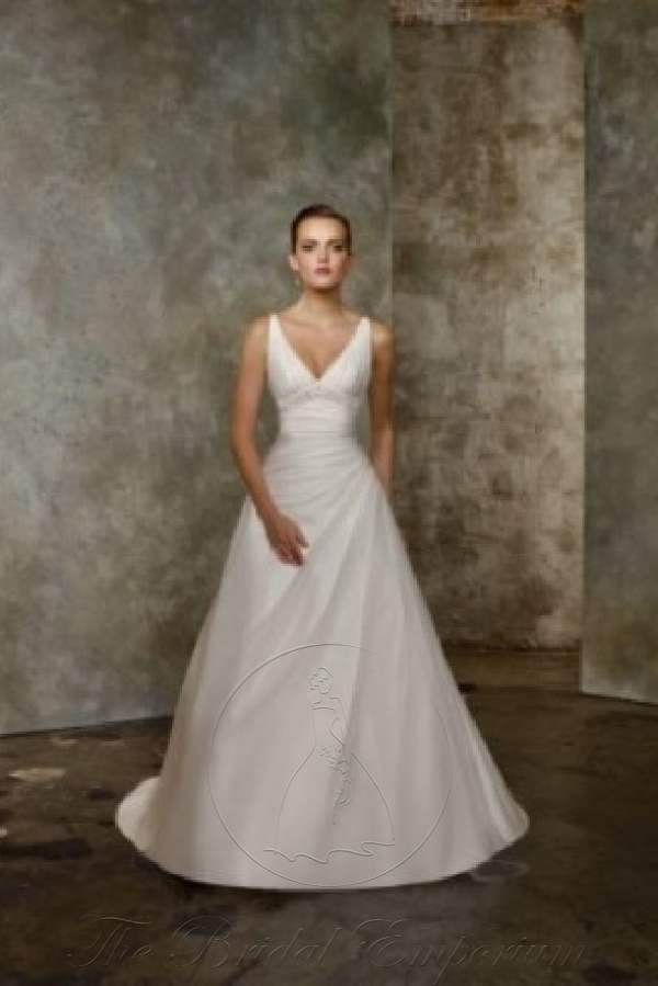 Organza Tiered Wedding Dress, Mori Lee